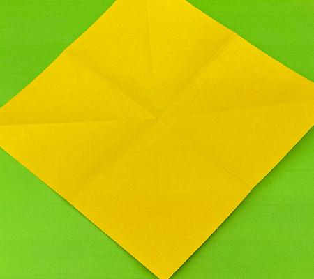 乌鸦手工折纸步骤图解 手工折纸-第3张