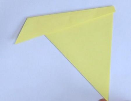 小鸭子折纸步骤图解法 手工折纸-第2张