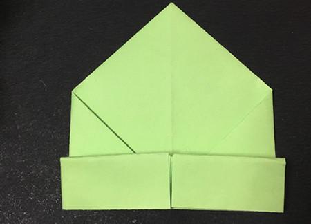 简单的折纸青蛙简单折法 手工折纸-第6张