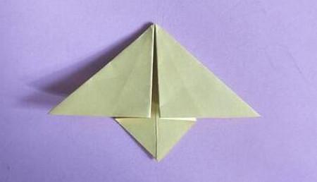 桃心折纸步骤图解 手工折纸-第6张
