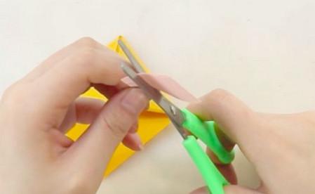 老虎书签的手工折纸图解步骤 手工折纸-第4张
