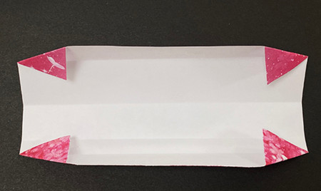 手提包折纸步骤图 手工折纸-第6张