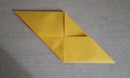 彩色立方体折纸教程 手工折纸-第9张