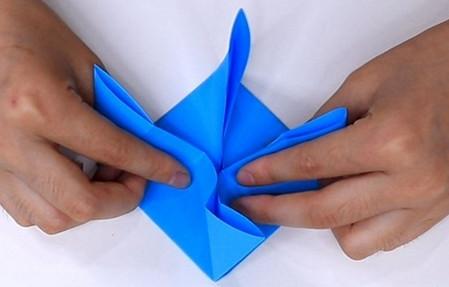 儿童手工折纸帆船折法图解 手工折纸-第10张