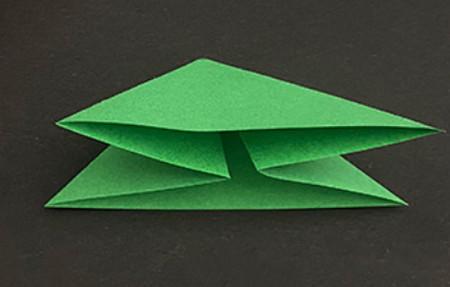 菠萝手工折纸方法图解 手工折纸-第17张