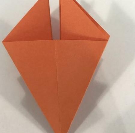 折纸康乃馨的步骤图 手工折纸-第6张
