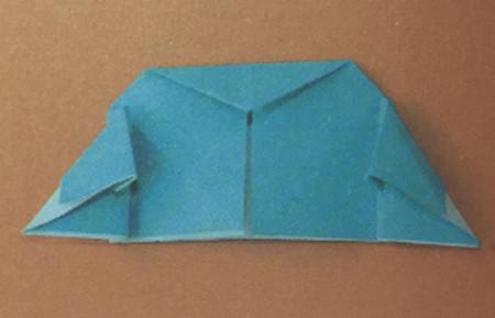 儿童手工折纸飞碟怎么折 手工折纸-第5张