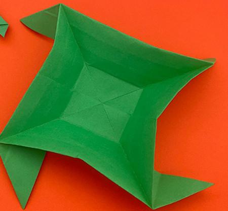 回力标折纸教程图解 手工折纸-第13张