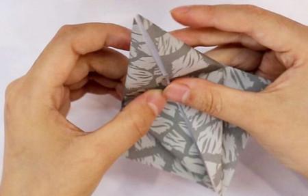 手工折纸大象的步骤图解 手工折纸-第3张