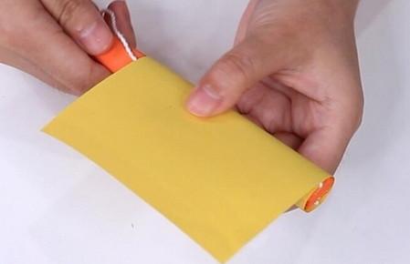 伸缩扇子的折法图解 手工折纸-第22张