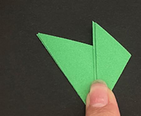 菠萝手工折纸方法图解 手工折纸-第18张