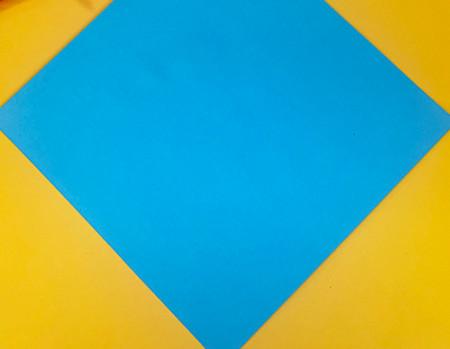 折纸小猪的步骤图解 手工折纸-第2张