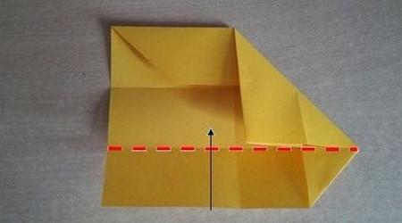 彩色立方体折纸教程 手工折纸-第7张