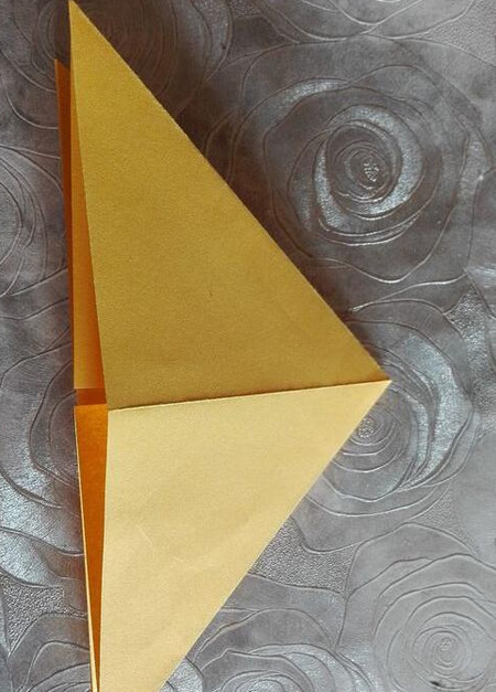正方形纸盒子的折法步骤 手工折纸-第6张