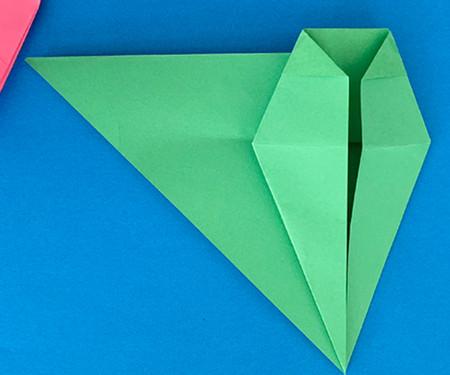 哈巴狗折纸步骤图解 手工折纸-第9张
