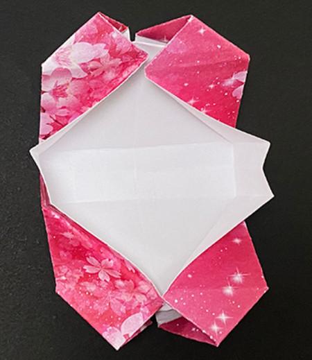 手提包折纸步骤图 手工折纸-第15张