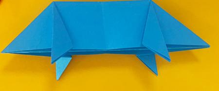 折纸小猪的步骤图解 手工折纸-第8张