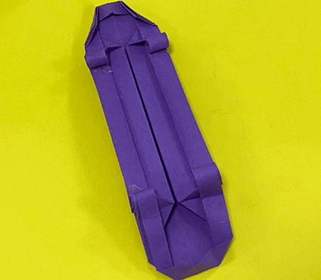 折纸滑板车图解 手工折纸-第17张
