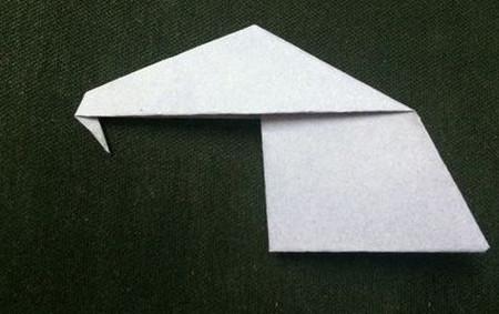 折纸大象的折法步骤 手工折纸-第7张