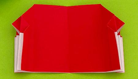 帐篷折纸方法图解 手工折纸-第11张