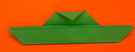 回力标折纸教程图解 手工折纸-第5张