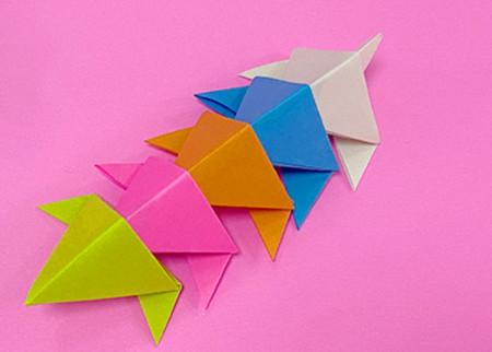 蜈蚣折纸图解步骤 手工折纸-第10张