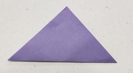 郁金香手工折步骤图解 手工折纸-第3张