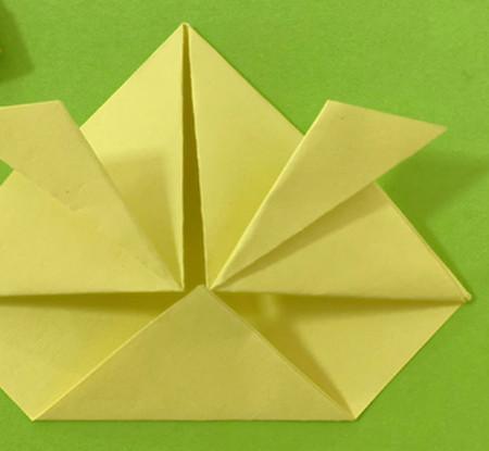 愤怒的小手工折纸步骤图 手工折纸-第9张