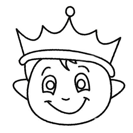 教小朋友画王子简笔画 中级简笔画教程-第5张