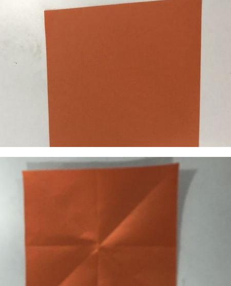 折纸康乃馨的步骤图 手工折纸-第2张