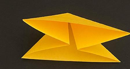 菠萝手工折纸方法图解 手工折纸-第3张
