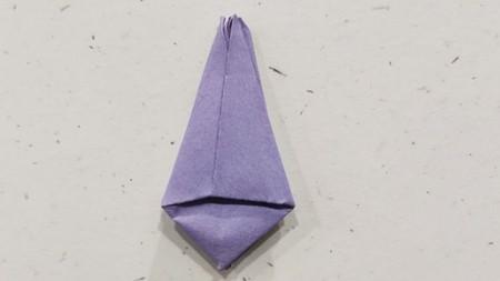 郁金香手工折步骤图解 手工折纸-第10张