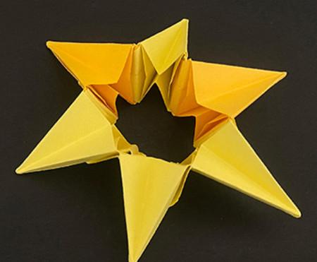 菠萝手工折纸方法图解 手工折纸-第7张