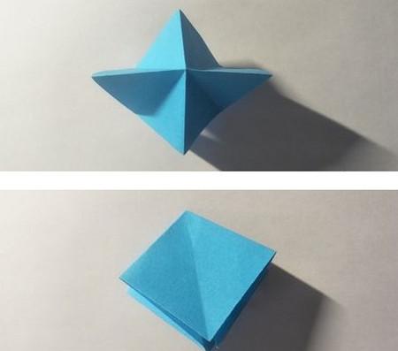 儿童手工锦鲤折纸图解 手工折纸-第3张