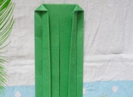 滑滑梯折纸步骤图 手工折纸-第8张