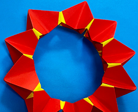 立体无限翻转手工折纸图解 手工折纸-第10张