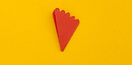 儿童手工折纸康乃馨花教程 手工折纸-第7张