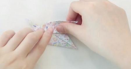 手工折纸旋转木马教程图解 手工折纸-第7张