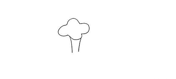 牵牛花画法步骤,牵牛花教程 初级简笔画教程-第3张