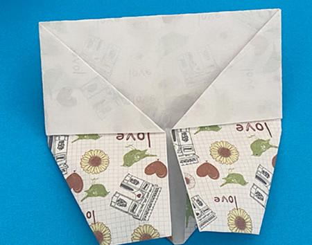 皇冠帽子折纸步骤图解 手工折纸-第13张