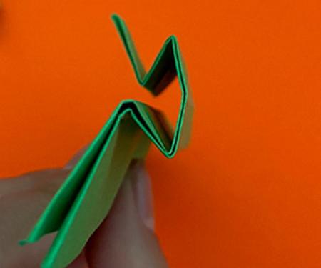 回力标折纸教程图解 手工折纸-第9张