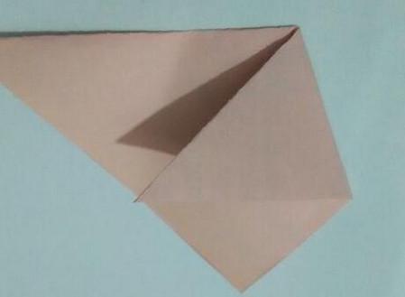 小猫指套折纸步骤图 手工折纸-第4张