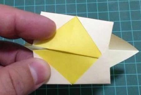 折纸灯笼立体简单做法 手工折纸-第9张