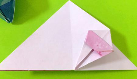 冰淇淋折纸步骤图解法 手工折纸-第10张