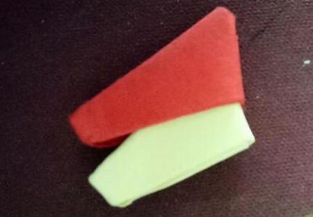 棒棒糖手工折纸步骤图解法 手工折纸-第10张
