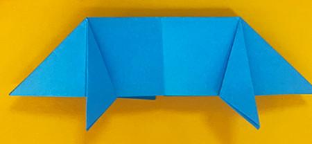 折纸小猪的步骤图解 手工折纸-第7张
