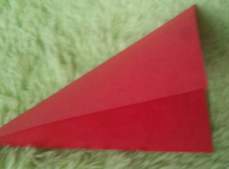立体小金鱼的简单折法 手工折纸-第3张