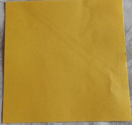 正方形纸盒子的折法步骤 手工折纸-第2张