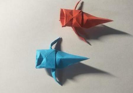 儿童手工锦鲤折纸图解 手工折纸-第1张