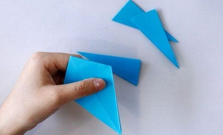 手工折纸蜘蛛图解步骤 手工折纸-第5张